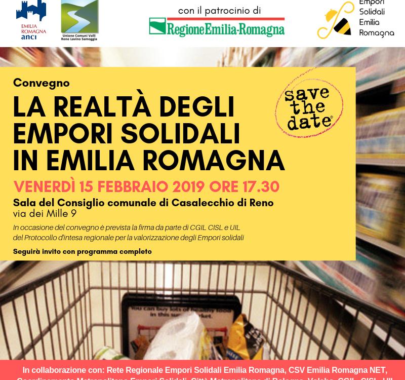 Save the date convegno Empori solidali